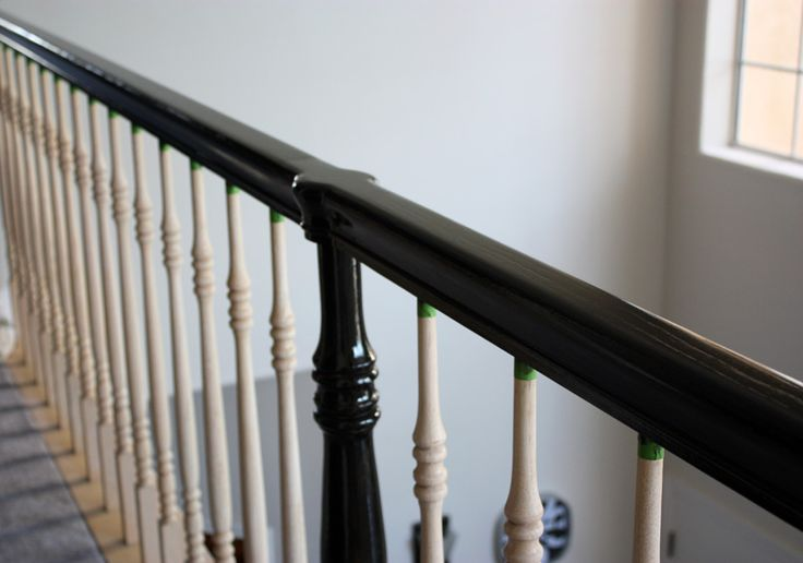 Love lace banister update again banisters new homes