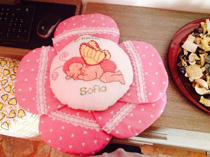 Fiocchi nascita | Fiocco nascita di Veronica De Rosa | FOTO