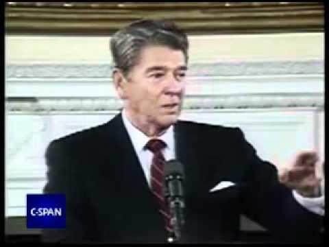 Ibn Khaldun quoted by U.S. President Ronald Reagan - YouTube