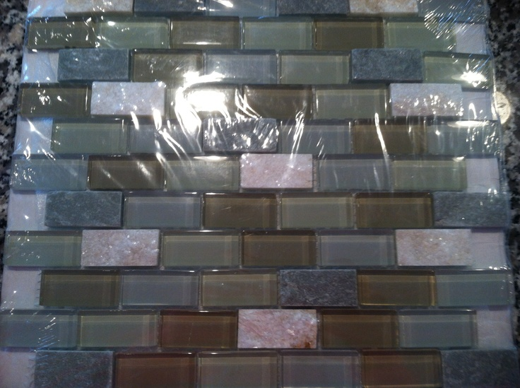 20 best images about backsplash on pinterest mosaic wall for Menards backsplash