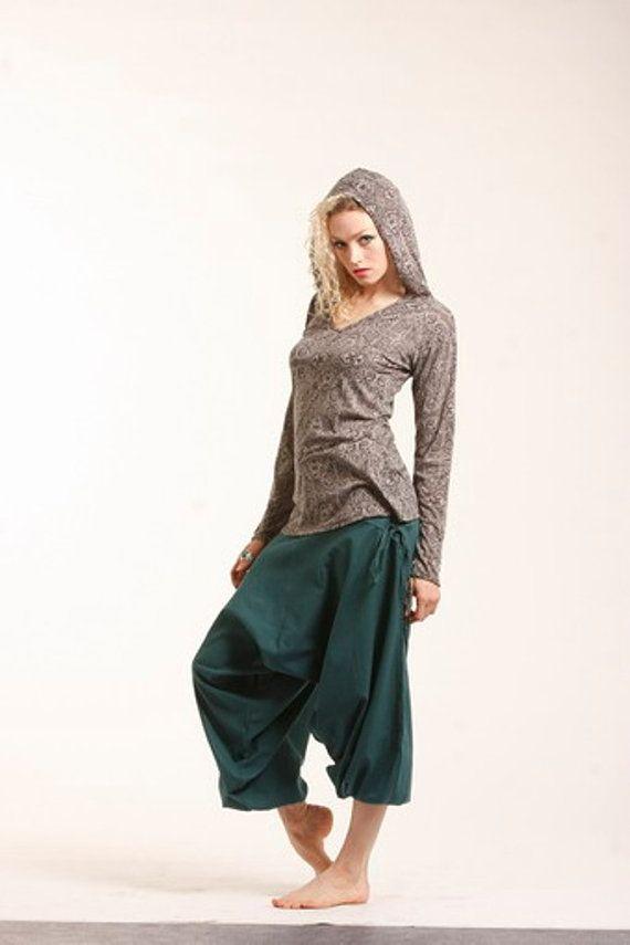 cotton yoga AFGHAN ALIBABA ALADDIN harem trousers psytrance goa pants. Want
