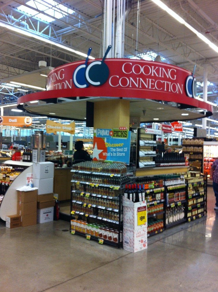 HEB Cooking Connections Demo Station inside HEB Plus ...