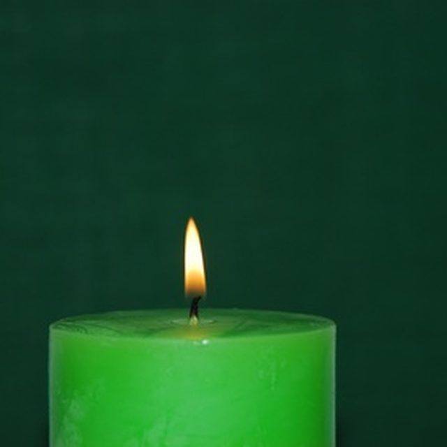 Most organic candles are made from soy or beeswax.