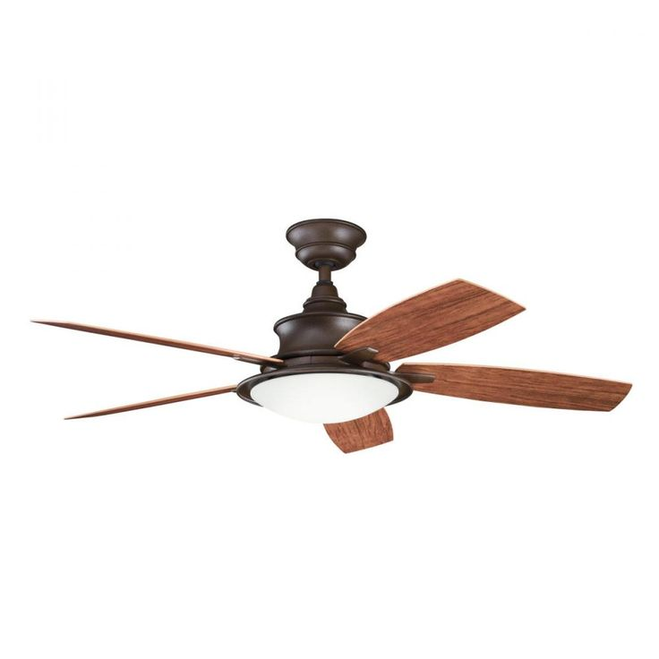 Shop for the kichler tannery bronze powder coat w walnut cherry blades cameron indoor ceiling fan with 5 blades includes cool touch remote light