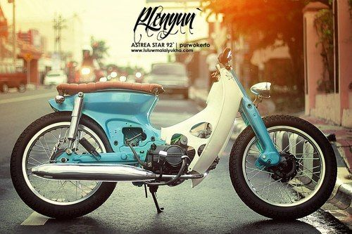 Honda Cub by Luluw Malaiyukha