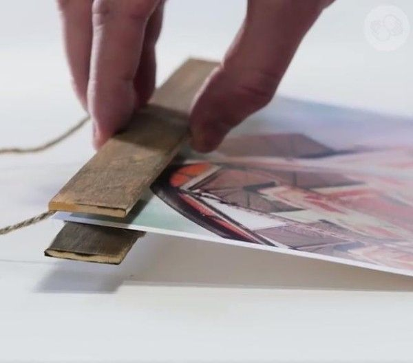 how to make a magnetic poster frame