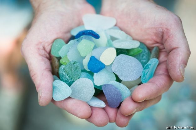 Make Your Own Sea Glass: Tutorial