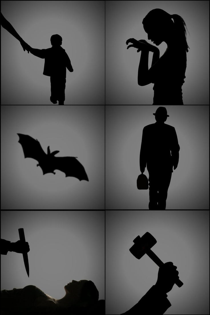 17 best images about halloween silhouettes on pinterest. Black Bedroom Furniture Sets. Home Design Ideas
