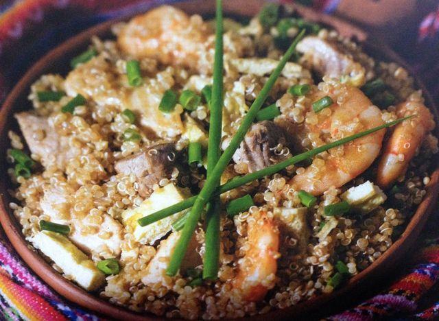 Es un plato inspirado en el popular arroz chaufa