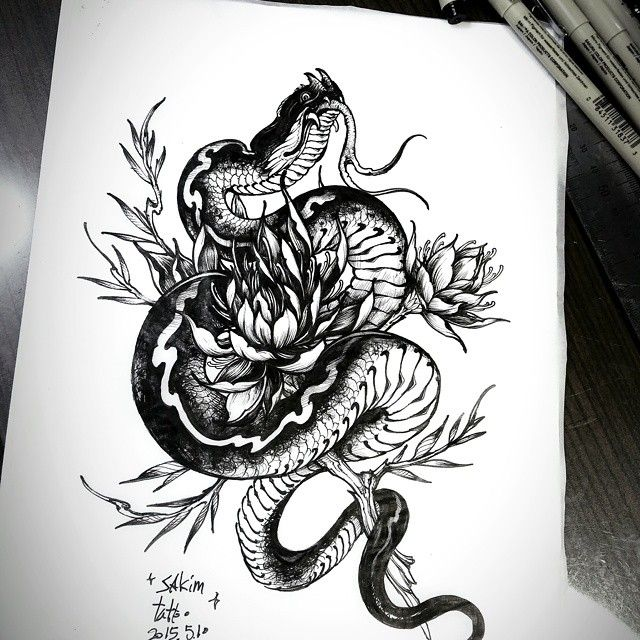 #blackwork #blackandgreytattoo #blackandgrey #blacktattoo #snake #snaketattoo #rose #rosetattoo #sketch #tattoo #blacknwhite #blackandwhite #art #illust #illustration #desgin #tattoos #tattooer #tattooed #sakim #스케치 #그림 #타투 #예술 #디자인 #문신 #뱀 #뱀타투#장미타투