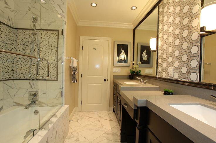 Porcelain Tile 18x18 Bullnose 3x18 2x2 Master Bath