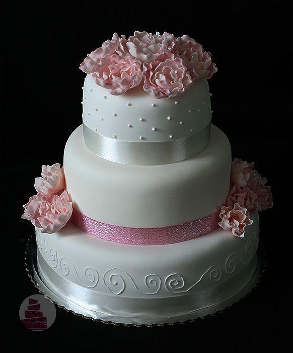 ruzove svadobne torty - Hľadať Googlom