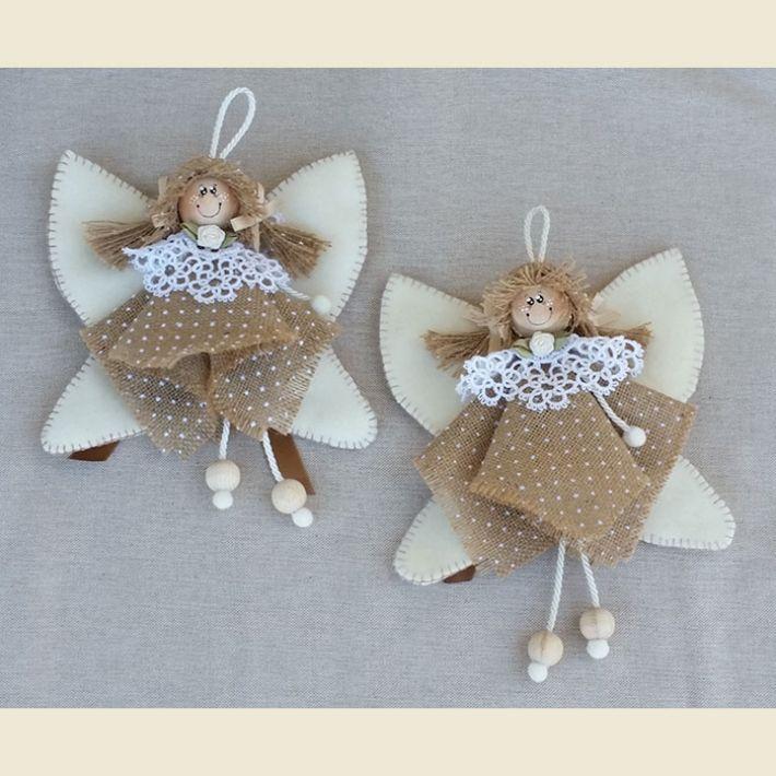 fare angeli di natale | Catalogo prodotti Kit per la casa - Arcobaleno Merceria