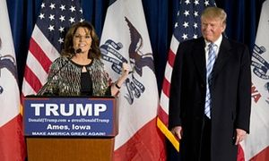 Apocalypse now: Sarah Palin's bizarre Trump endorsement analyzed I watched all 20 minutes of the mush-mouthed, grotesque oration in support of the Republican frontrunner. Here, the anatomy of a very disturbing scene 01.20.16