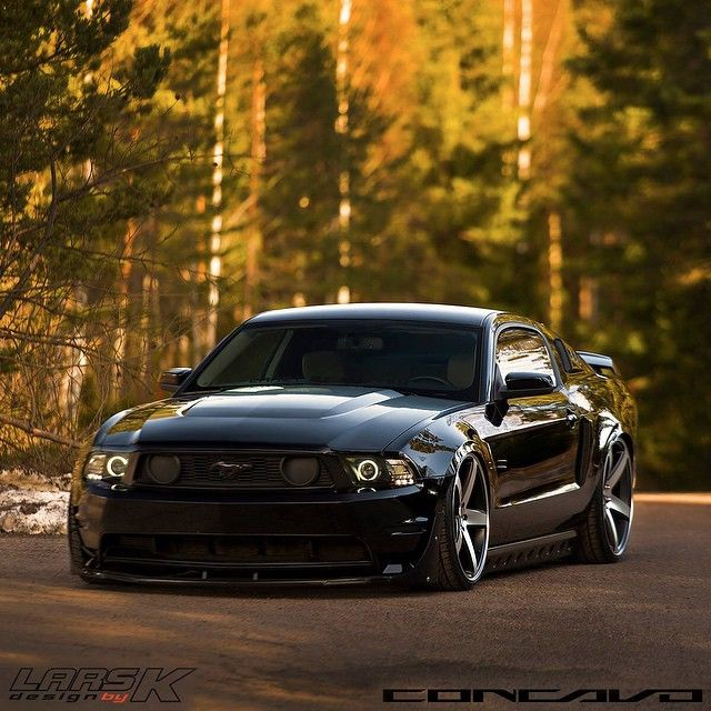 Slammed Stang Follow Ford Motorsports For More