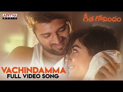 Vachindamma Full Video Song || Geetha Govindam Songs