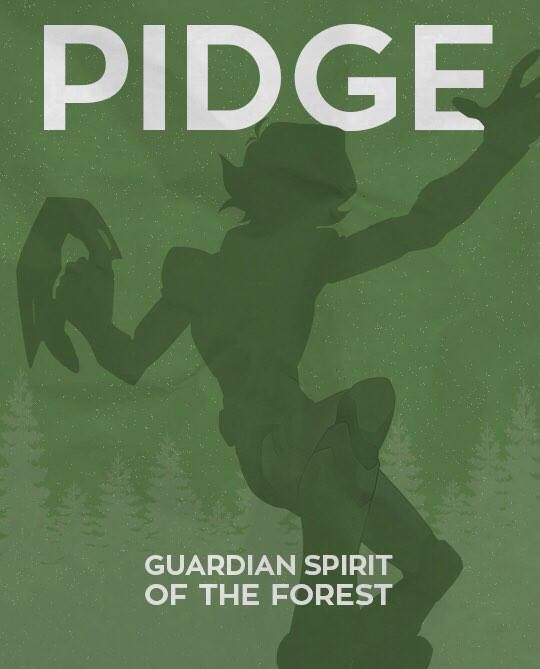 Pidge Guardian Spirit of the Forest from Voltron Legendary Defender