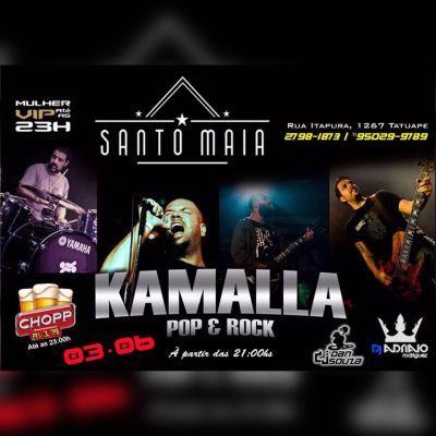 Sexta com o melhor do Pop Rock no Santo Maia Tatuapé. Pra saber mais, acesse o Site: www.baladassp.com.br/ Infos no Whats: 951674133