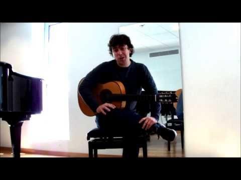Toni P. profesor de guitarra en Barcelona