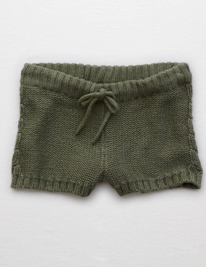 Aerie Cable Sweater Short