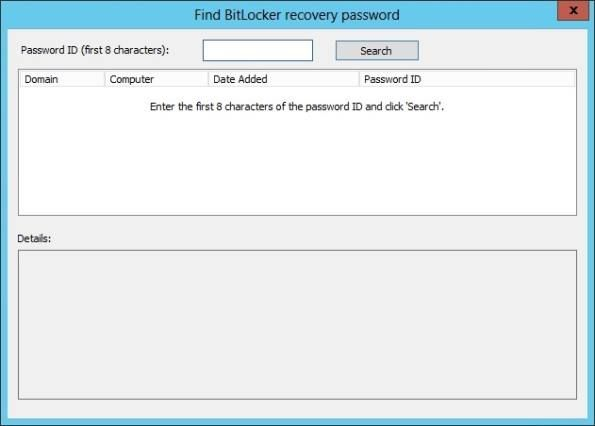 Retrieve BitLocker Recovery Passwords from Active Directory Users and Computers #active #directory #users #and #computers, #bitlocker #drive #encryption #password #recovery, #active #directory #tools #download, #bitlocker #windows #server #2008, #bitlocker #windows #server #2012, #active #directory, #windows #server #2012, #windows #server #2008, #security…