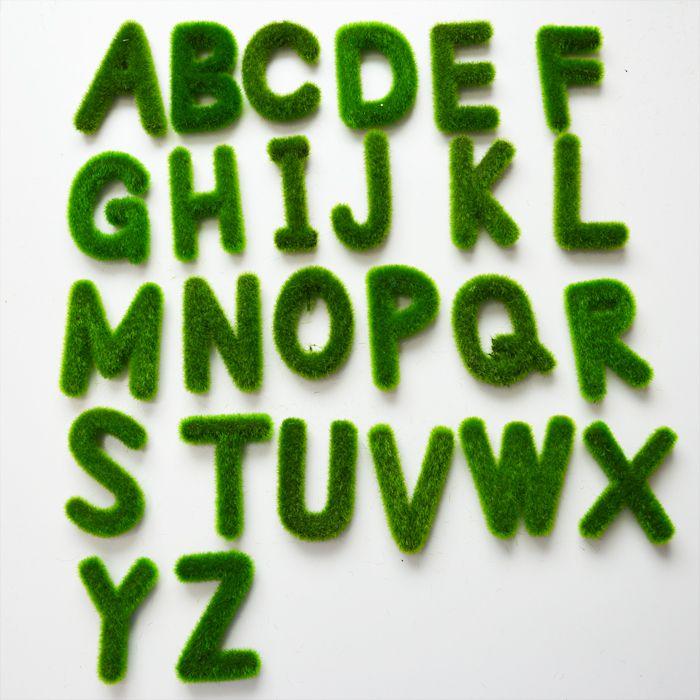 Freies verschiffen 12 teile/los kreative künstliche pflanze moos Englisch letters home garten dekorationen bonsai kunst DIY handwerk in 1.wenn sie eilverschiffen wählen (dhl, fedex, ups und andere schnelle express), bitte versuchen gut zu machen auftrag3 w aus Dekorative Blumen & Kränze auf AliExpress.com | Alibaba Group