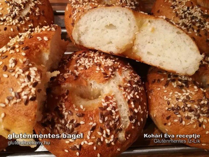 Gluténmentes bagel recept -  klasszikusok gluténmentesen Évától Éva gluténmentes Íz-Lik rovatának legújabb receptje egy igazi klasszikus. Gluténmentes bagel készítése lépésről lépésre. ANNNYYYYAAAA, ezek sós fánkokkkkk!!
