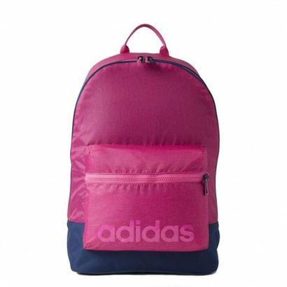 A Mochila Adidas Neo Daily Rosa comporta tudo o que você precisa com conforto e estilo. Detalhes da marca nas alças e no bolso frontal conferem um visual esportivo. Características: Compartimento pri | Netshoes
