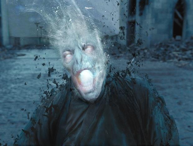 Cool visual showing alternate 'Harry Potter' ending
