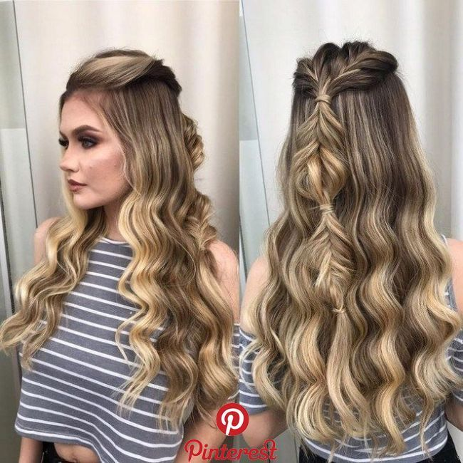 58 Fascinating Long Hairstyles For Women To Go Work 14 58 Fascinating Long Hairstyles For Women To Bun Hairstyles For Long Hair Curls For Long Hair Hair Styles