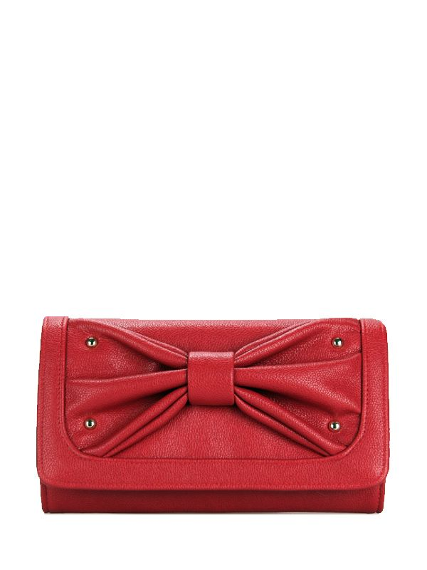 Rivets Bowknot Solid Woman Best Crossbody Bags