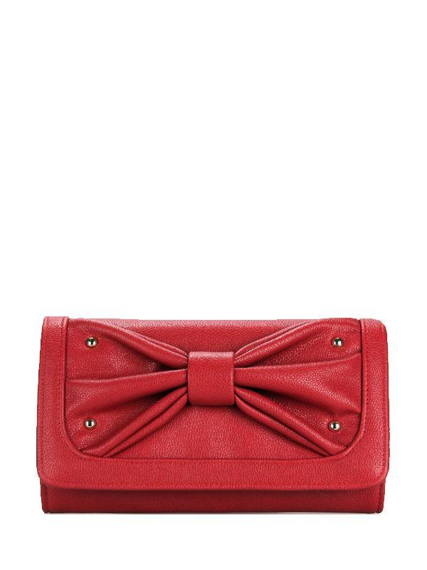Rivets Bowknot Solid Woman Best Crossbody Bags