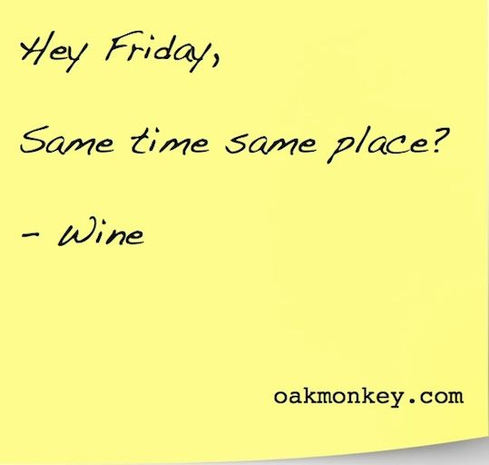 Image result for friday wine jokes