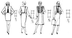 Картинки по запросу пропорции 1\3 в одежде