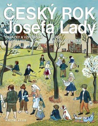 Český rok Josefa Lady - Obrázky a vzpomínky Josefa Lady