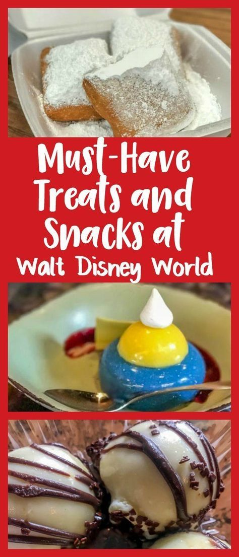 Must-Have Treats and Snacks at Walt Disney World