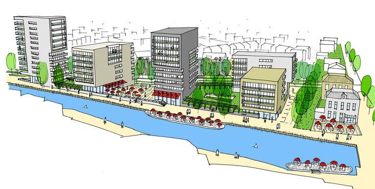 Stedenbouwkundige ontwerpvisie voor de Zuidkop aan de Kanaalzone i.o.v…