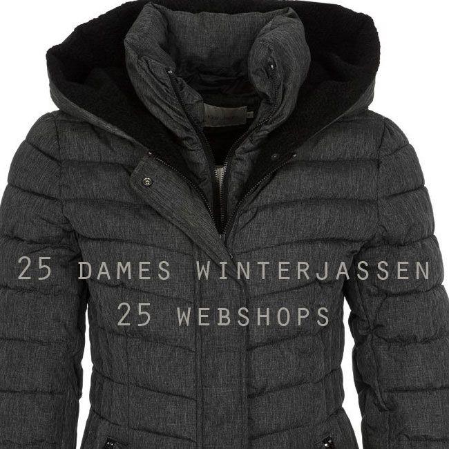 Decembermode, 25 webshops, 25 dames winterjassen.