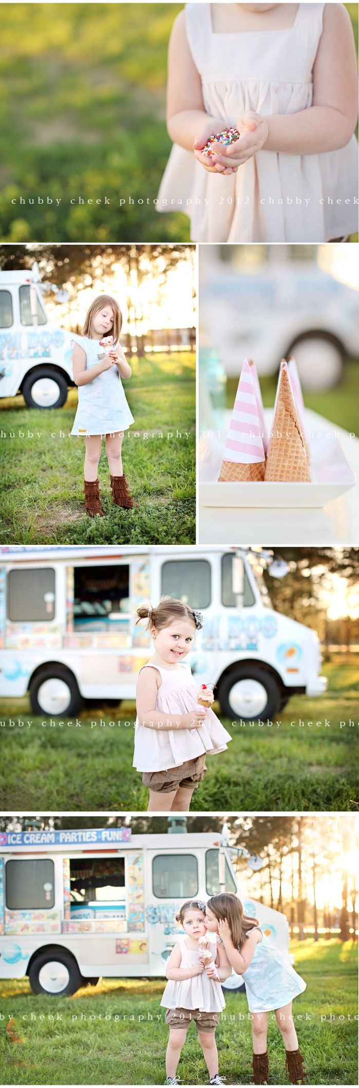 love everything about this ice cream shoot.
