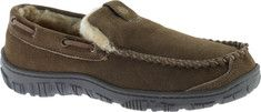 Men's+Clarks+Venetian+Moccasin+Slipper+-+Sage+Leather+with+FREE+Shipping+&+Exchanges.+Expect+long-lasting+warmth+and+comfort+in+the+men's+Clarks+Venetian+Moc.+