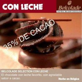Categoría: Chocolates - Producto: Chocolate Cobertura Con Leche Para Templar - Envase: Paquete - Presentación: X   1 Kg - Marca: Belcolade