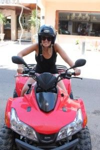 Emma Brown on Formentera, Spain