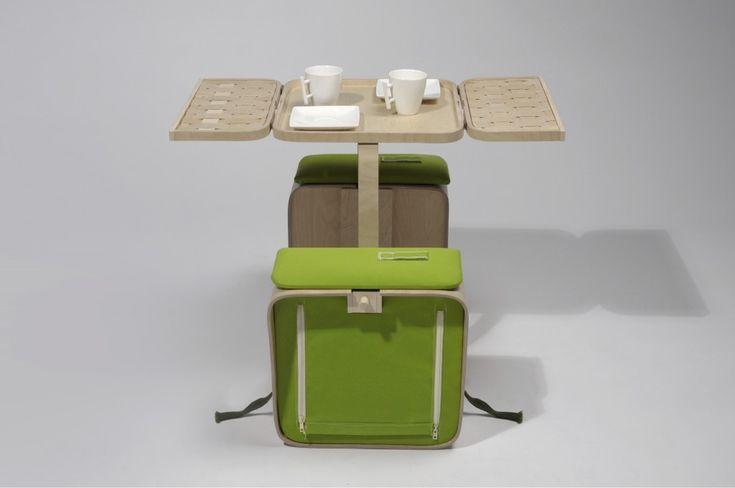 Мобильный столик для пикника