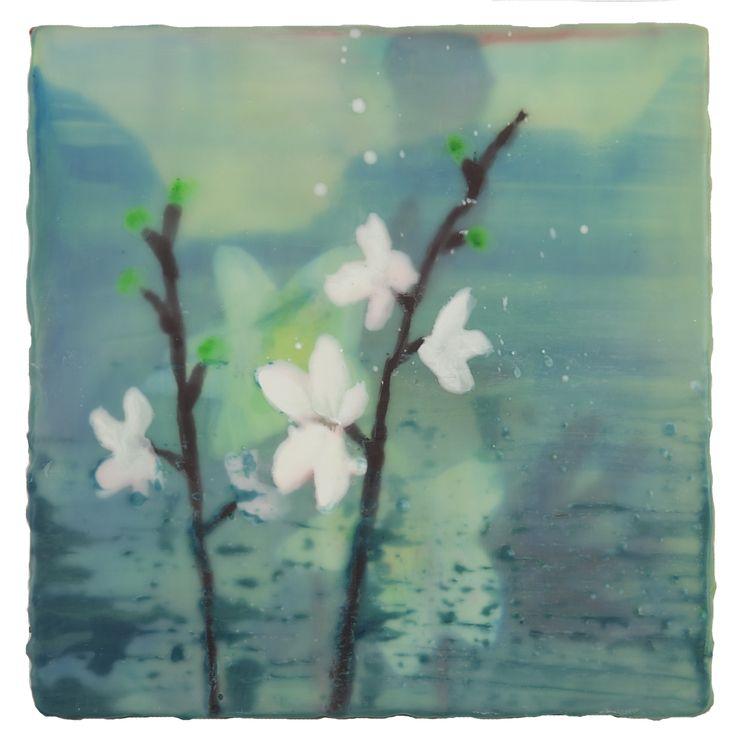 Anke Roder Orchidee-2013 encaustic