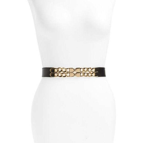 Women's Bp. Chain Clasp Belt (435 ARS) ❤ liked on Polyvore featuring accessories, belts, waist cincher belt, chunky belt, chain belt, golden belt and cinch belt