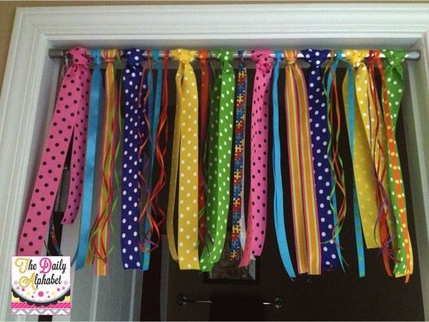 It also looks great in a doorway. | 36 Clever DIY Ways To Decorate Your Classroom
