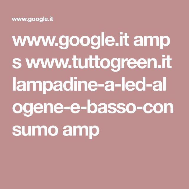Lampadine a LED, alogene, a basso consumo e risparmio