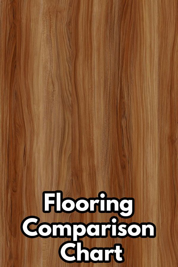 Our Flooring Comparison Chart Compares