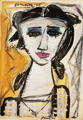 Corneille (1922-2010) De kunstenaars van CoBrA werkten voornamelijk individueel. Toch heeft de Cobra-beweging grote betekenis verworven als kunst-en cultuurhistorisch verschijnsel én als oriëntatiepunt voor de betrokken kunstenaars. Cobra was een collectief, interdisciplinair, politiek en sterk literair getinte beweging, die, na de oorlog, gevoelens verbeeldde van felheid, woede, verlangen en eenvoud.