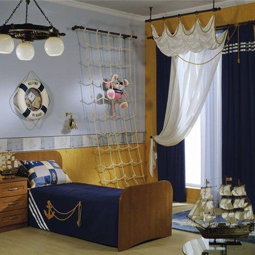 Nautical Bedroom: Theme Rooms, Nautical Bedrooms, Boys Bedrooms, Nautical Rooms, Boys Rooms, Pirates Bedrooms, Rooms Ideas, Nautical Theme, Kids Rooms